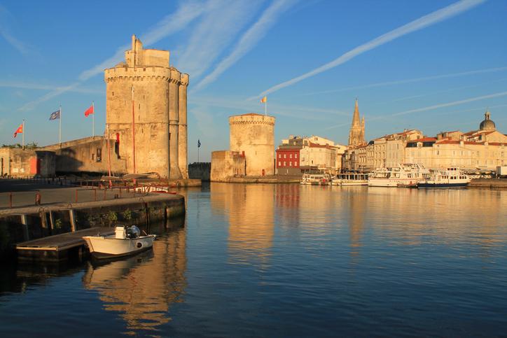 Old port of La Rochelle